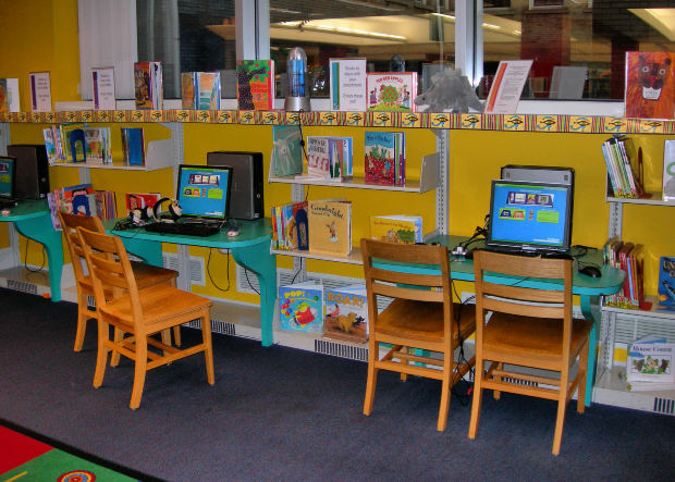 Classroom Library Design Ideas ~ Back to school library ideas elementary librarian