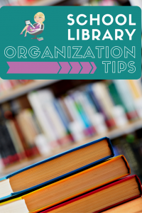 school library organization tips