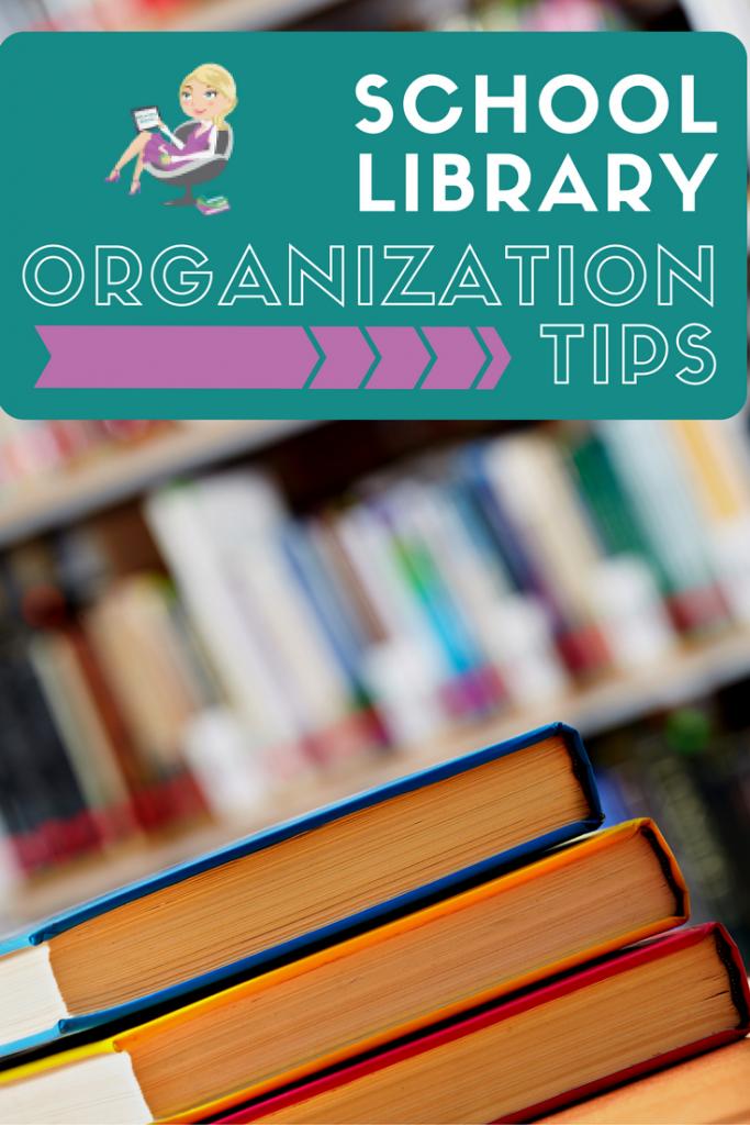 school library organization tips