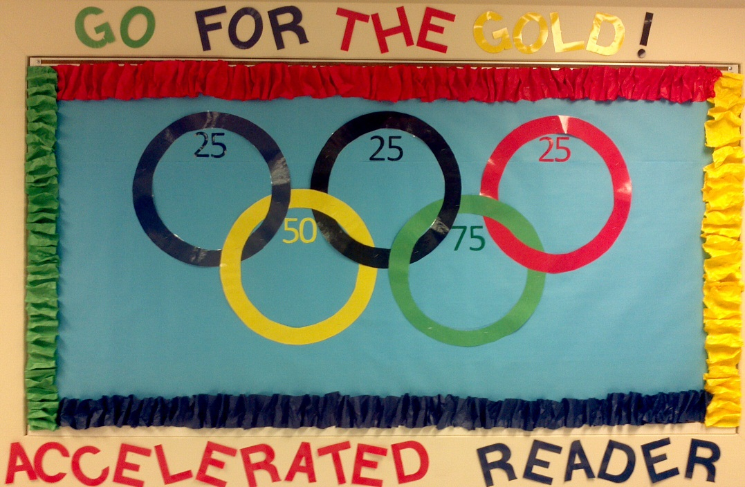 Accelerated Reader Bulletin Boards http://elementarylibrarian.com/accelerated-reader-ideas/