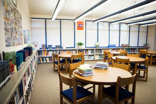 Library stations or library centers