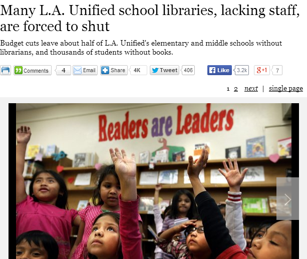 From the L.A. Times - click photo for direct link to article