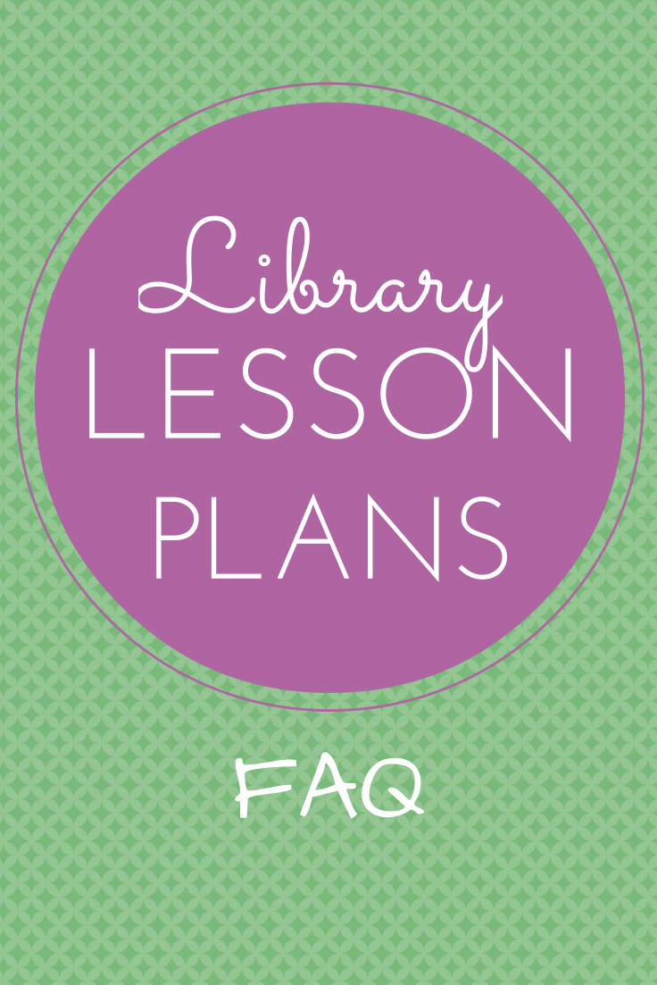 FAQ library lesson plans