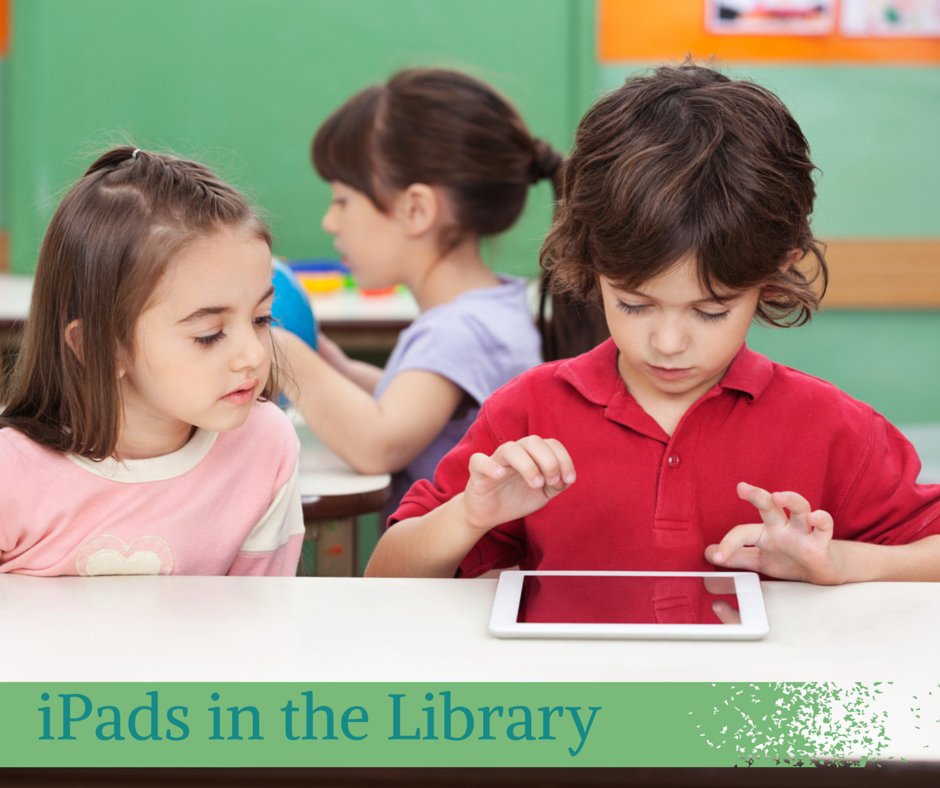 iPads in the Library